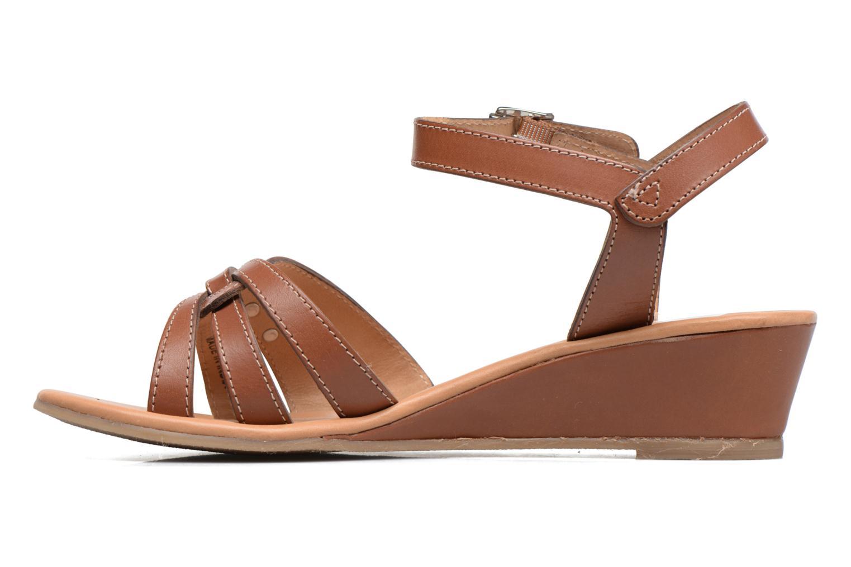 Sandales et nu-pieds Les Tropéziennes par M Belarbi Bolero Beige vue face