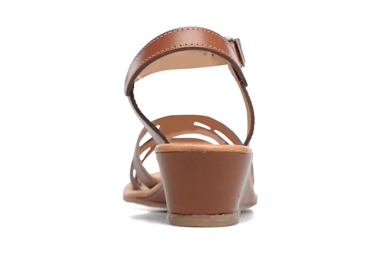 Sandales et nu-pieds Les Tropéziennes par M Belarbi Bolero Beige vue droite