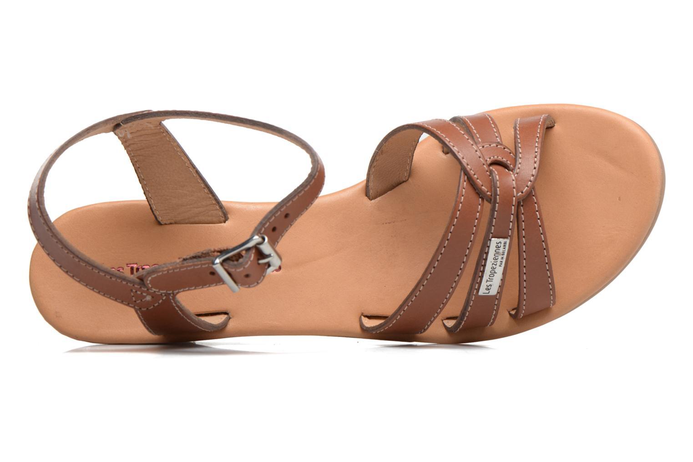 Sandales et nu-pieds Les Tropéziennes par M Belarbi Bolero Beige vue gauche