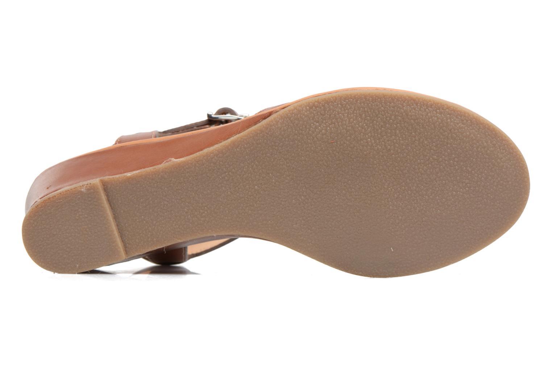 Sandales et nu-pieds Les Tropéziennes par M Belarbi Bolero Beige vue haut