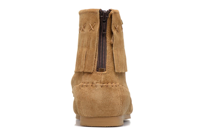 Bottines et boots Les Tropéziennes par M Belarbi Crabe J Marron vue droite