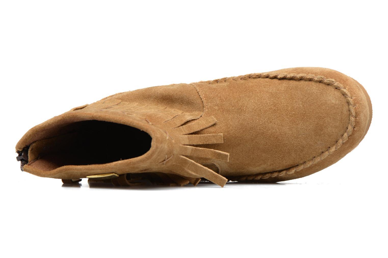 Bottines et boots Les Tropéziennes par M Belarbi Crabe J Marron vue gauche