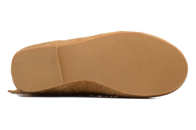 Bottines et boots Les Tropéziennes par M Belarbi Crabe J Marron vue haut