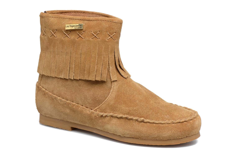 Bottines et boots Les Tropéziennes par M Belarbi Crabe J Marron vue détail/paire