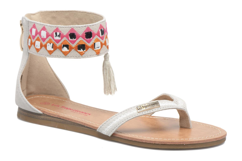 Sandales et nu-pieds Les Tropéziennes par M Belarbi Galactik W Beige vue détail/paire