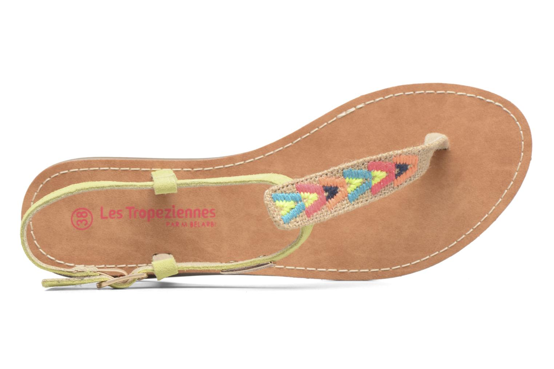 Sandales et nu-pieds Les Tropéziennes par M Belarbi Geronima Jaune vue gauche