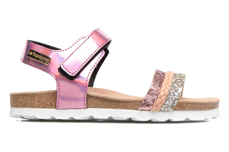 Sandales et nu-pieds Les Tropéziennes par M Belarbi Petille Rose vue derrière