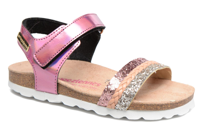 Sandales et nu-pieds Les Tropéziennes par M Belarbi Petille Rose vue détail/paire