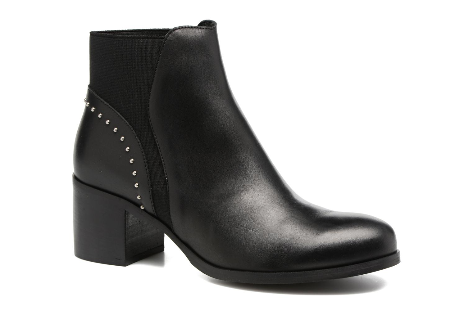 Ankle boots Georgia Rose Soulia Black detailed view/ Pair view