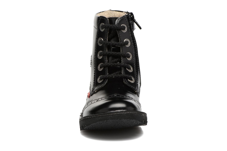 Bottines et boots Kickers Neoclass Noir vue portées chaussures