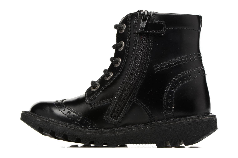 Bottines et boots Kickers Neoclass Noir vue face