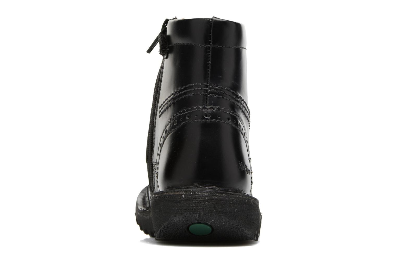 Bottines et boots Kickers Neoclass Noir vue droite