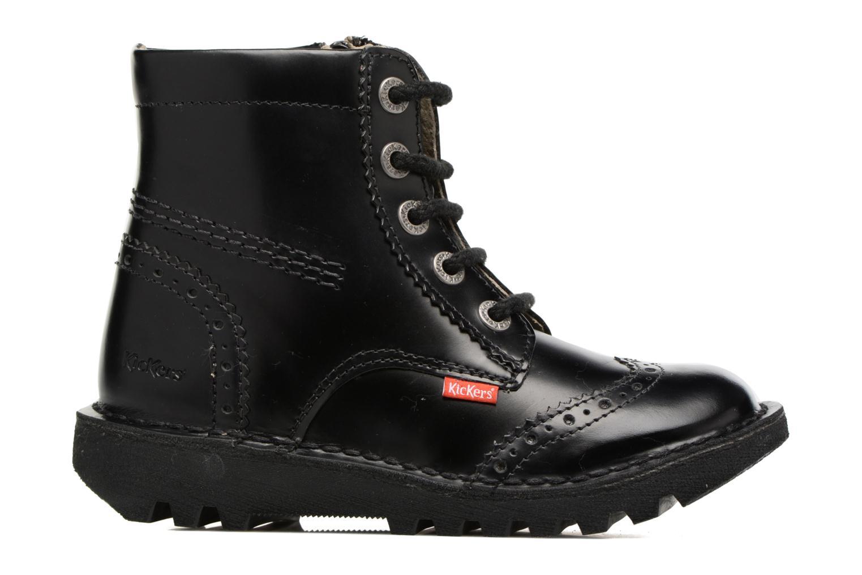 Bottines et boots Kickers Neoclass Noir vue derrière