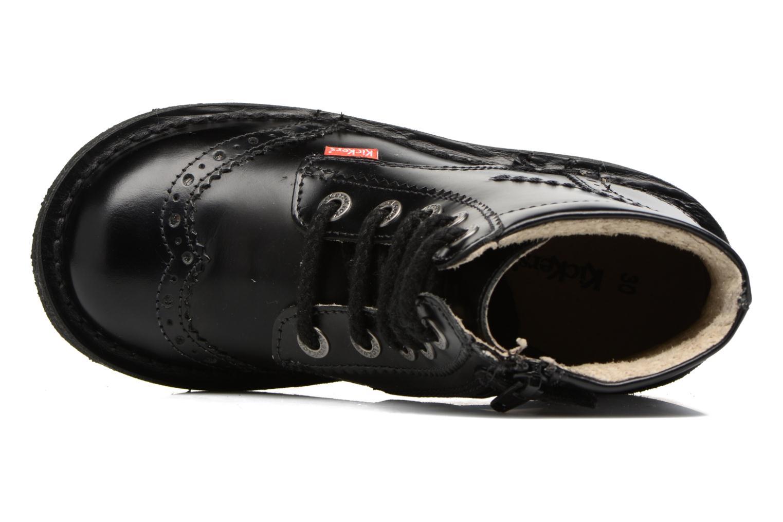 Bottines et boots Kickers Neoclass Noir vue gauche