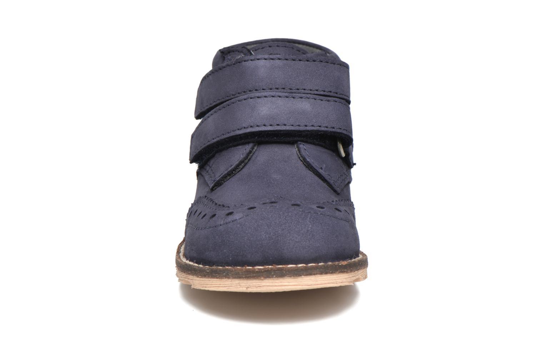 Bottines et boots Kickers Nonocool Bleu vue portées chaussures