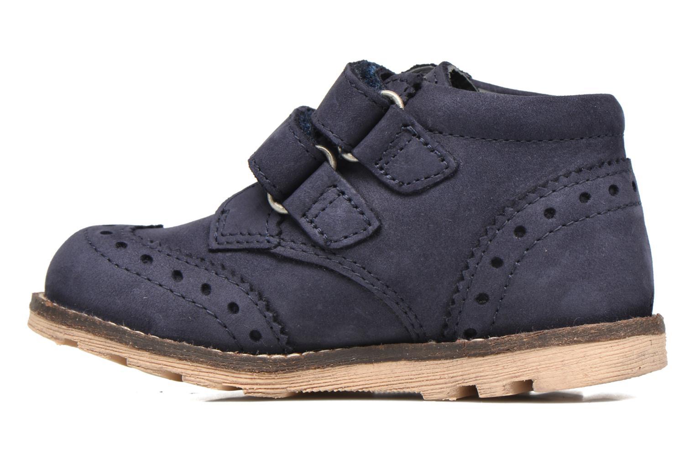 Bottines et boots Kickers Nonocool Bleu vue face