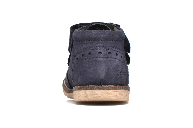 Bottines et boots Kickers Nonocool Bleu vue droite