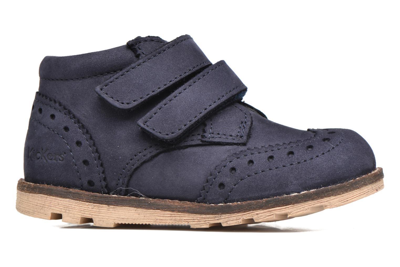 Bottines et boots Kickers Nonocool Bleu vue derrière
