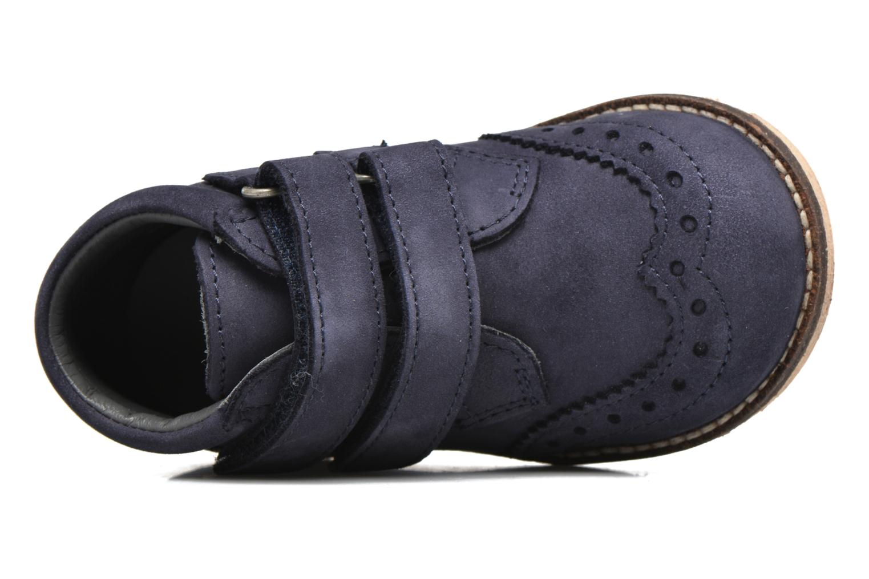 Bottines et boots Kickers Nonocool Bleu vue gauche