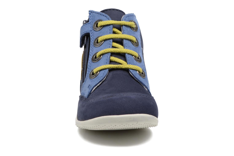Bottines et boots Kickers Bartin Bleu vue portées chaussures