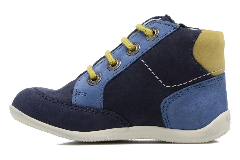 Bottines et boots Kickers Bartin Bleu vue face
