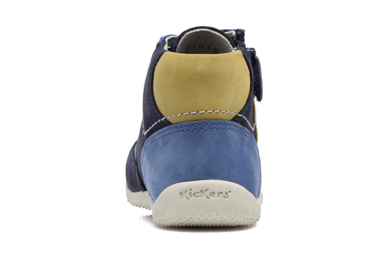 Bottines et boots Kickers Bartin Bleu vue droite