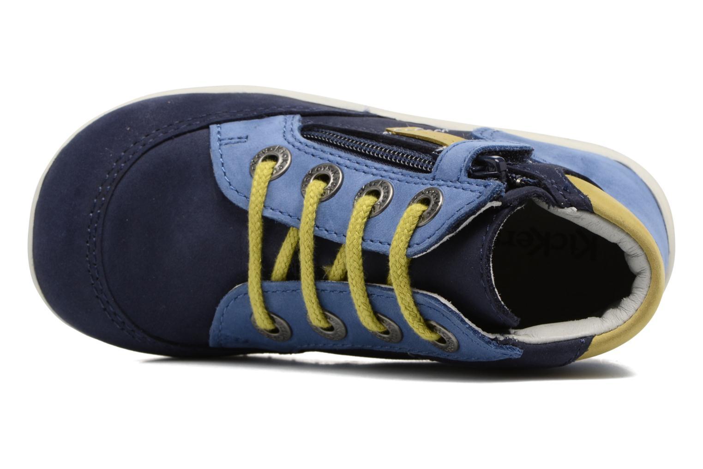 Bottines et boots Kickers Bartin Bleu vue gauche