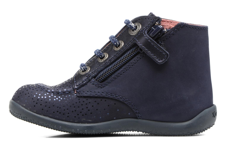 Bottines et boots Kickers Bhou Bleu vue face