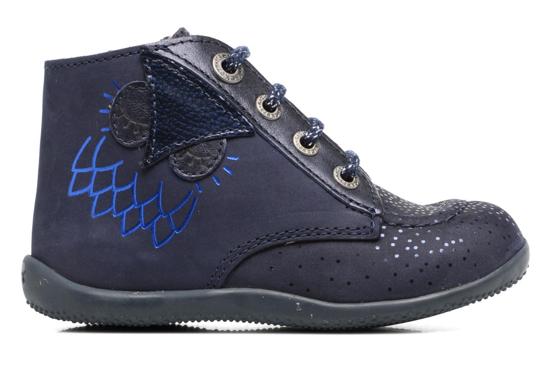 Bottines et boots Kickers Bhou Bleu vue derrière