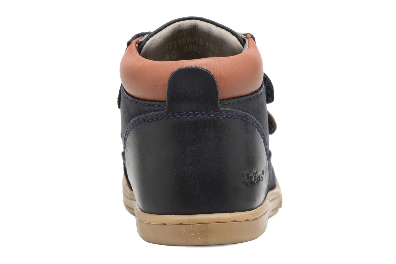 Bottines et boots Kickers Tackeasy Bleu vue droite