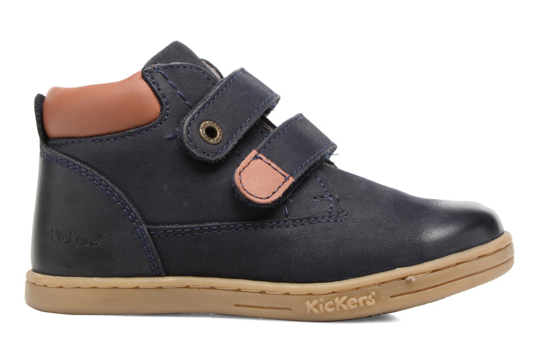Bottines et boots Kickers Tackeasy Bleu vue derrière