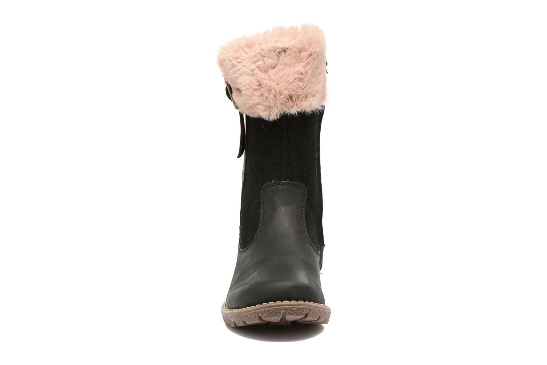 Bottes Kickers Uxana Noir vue portées chaussures