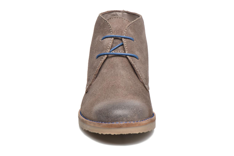Chaussures à lacets Kickers Tymba Beige vue portées chaussures