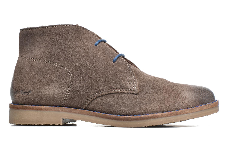 Chaussures à lacets Kickers Tymba Beige vue derrière