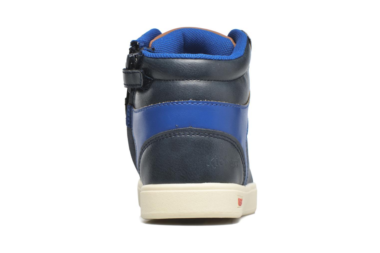 Baskets Kickers Gravlor Bleu vue droite