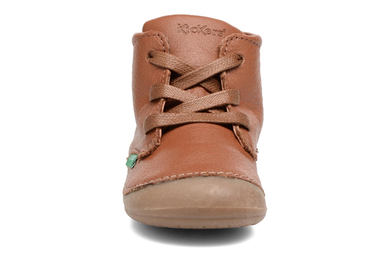 Stiefeletten & Boots Kickers Sonice weinrot schuhe getragen