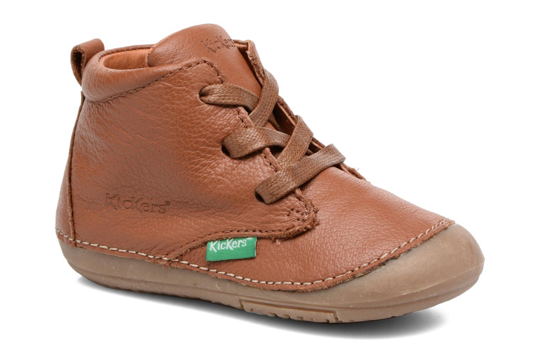 Stiefeletten & Boots Kickers Sonice weinrot detaillierte ansicht/modell