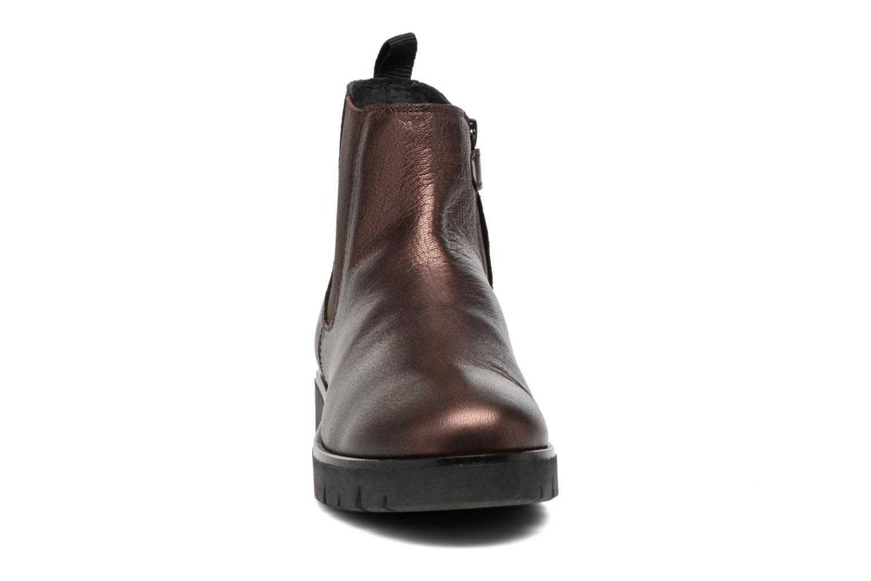 Bottines et boots Kickers Feepassi Bordeaux vue portées chaussures
