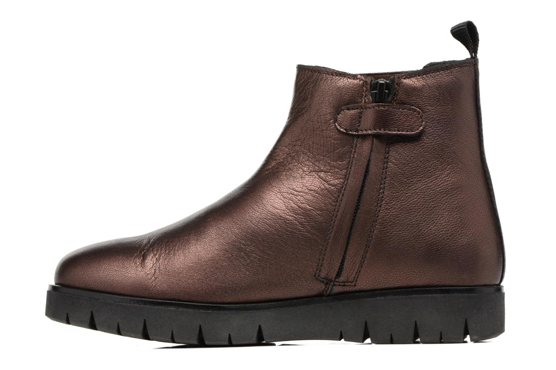 Bottines et boots Kickers Feepassi Bordeaux vue face