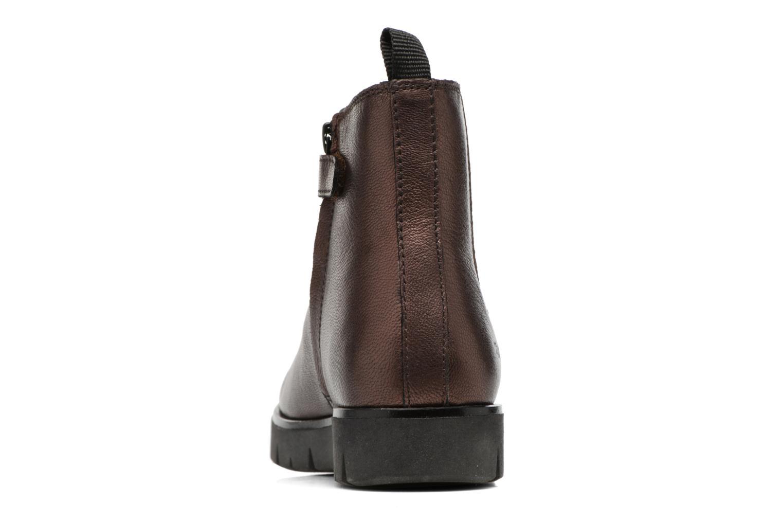 Bottines et boots Kickers Feepassi Bordeaux vue droite