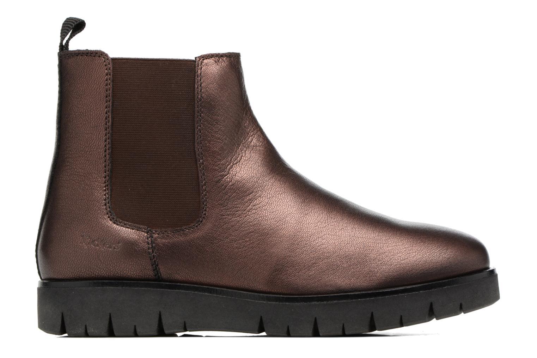 Bottines et boots Kickers Feepassi Bordeaux vue derrière