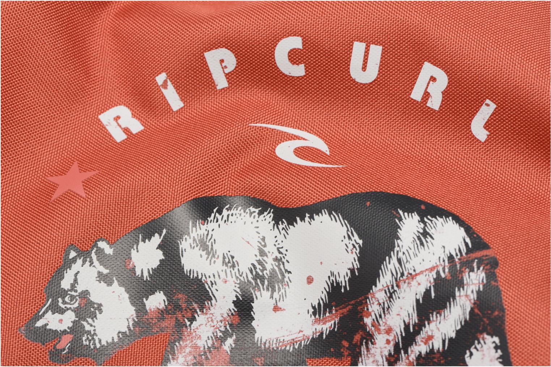 Sacs de sport Rip Curl Drawstring Modern Retro Rouge vue gauche