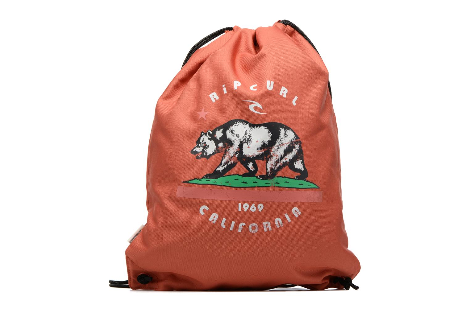 Drawstring Modern Retro Red
