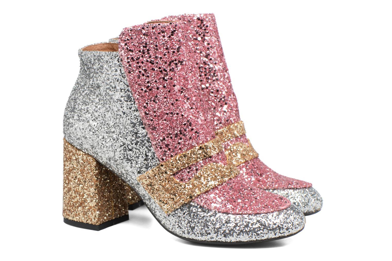 Bottines et boots Made by SARENZA Winter Freak #2 Multicolore vue derrière