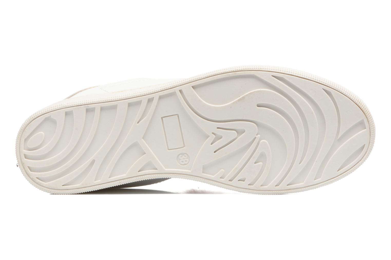 Baskets I Love Shoes Mc Etapom Blanc vue haut