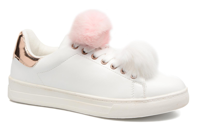 Baskets I Love Shoes Mc Etapom Blanc vue détail/paire
