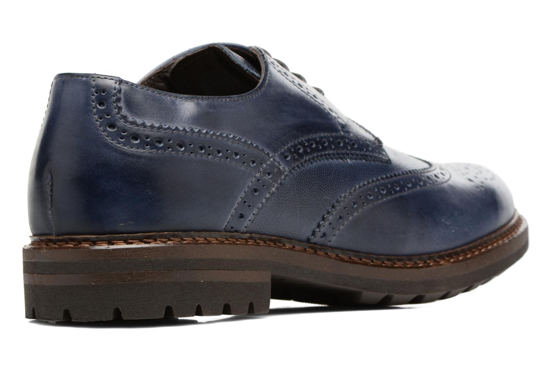 Chaussures à lacets Mr SARENZA Nubia Bleu vue face