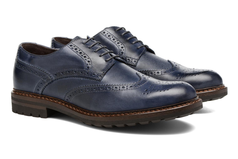 Chaussures à lacets Mr SARENZA Nubia Bleu vue derrière