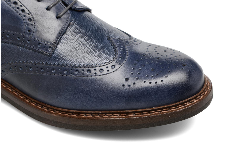 Chaussures à lacets Mr SARENZA Nubia Bleu vue gauche