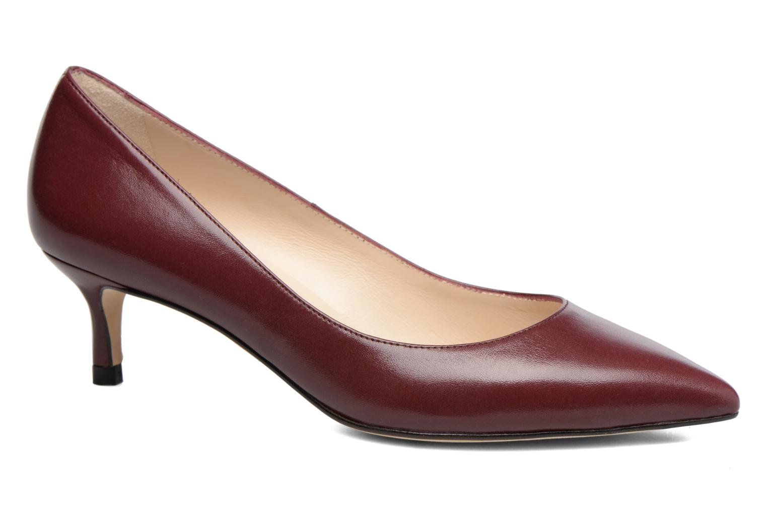 High heels L.K. Bennett Audrey Burgundy detailed view/ Pair view